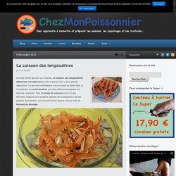 La cuisson des langoustines - Chez mon Poissonnier