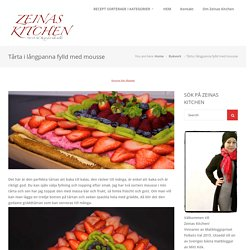 Tårta i långpanna fylld med mousse - ZEINAS KITCHEN