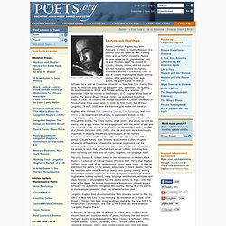 robert frost james langston hughes and A comparison of the poetry of langston hughes and robert frost pages 3 words 1,148 view full essay more essays like this: poetry, robert frost, langston hughes not sure what i'd do without @kibin - alfredo alvarez, student @ miami university exactly what i needed - jenna kraig, student @ ucla wow most helpful essay resource ever.