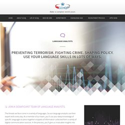 Language Analysts
