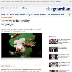 How we're herded by language