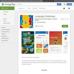 Den hemliga agentens app för språkliga utmaningar – Appar på Google Play