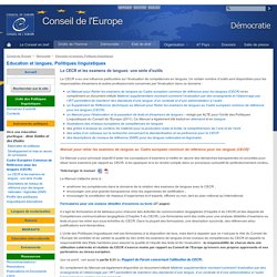 The CEFR and language examinations: a toolkit