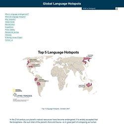 Language Hotspots