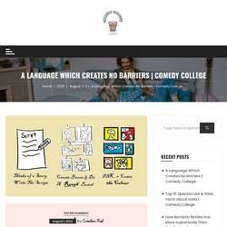 Comical Language Learning : A Language Which Creates No Barriers