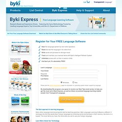 Free Language Learning Software Downloads