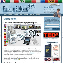 Language learning | Fluent in 3 months - Language Hacking and Travel Tips