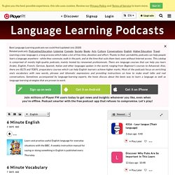 Best Language Learning Podcasts (2020)