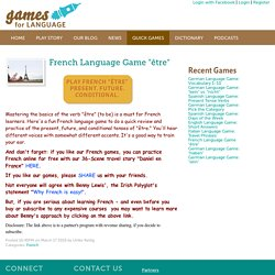 Quick Language Games for Fun Learning and Practice