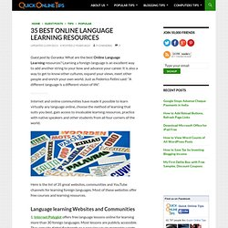 35 Best Online Language Learning Resources
