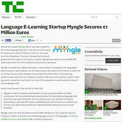 Language E-Learning Startup Myngle Secures €1 Million Euros