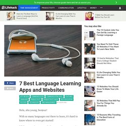 7 Best Language Learning Apps and Websites