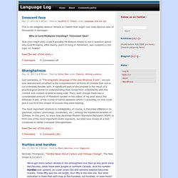 Language Log
