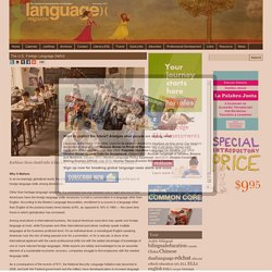 Language Magazine » The U.S. Foreign Language Deficit