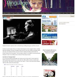 Language Magazine » Reading for Pleasure
