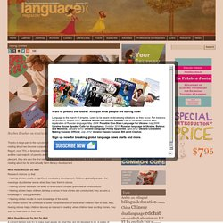 Language Magazine Telling Stories