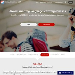 Learn A Language With Rocket Languages! | RocketLanguages