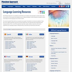Language Learning Resources - Study Guides
