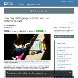 How English language teachers can use pictures in class