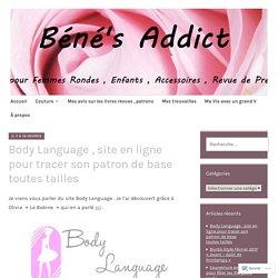 Body Language , site en ligne pour tracer son patron de base toutes tailles – Béné's Addict