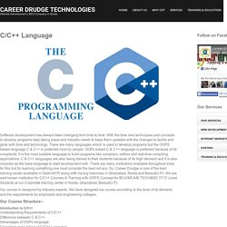 C C++ Language Training & Courses in Ghaziabad- Delhi- Noida