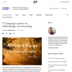 17 language quotes to turbocharge your learning ‹ GO Blog