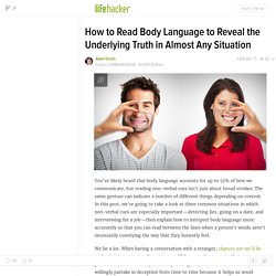 How to Read Body Language.