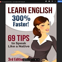 The LanguageLab Library - Learn English: 300% Faster.pdf