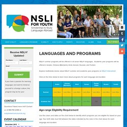 Languages and Programs