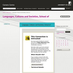 Languages, Cultures and Societies, School of
