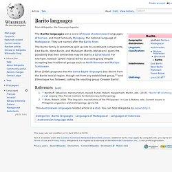 Sama–Bajaw languages