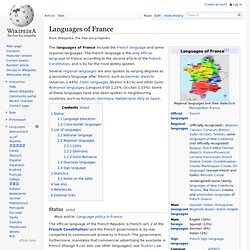 Languages of France