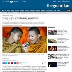 Languages smarten up your brain