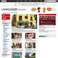 Languages - Spanish - Teaching Spanish - Topics