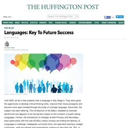 Languages: Key To Future Success
