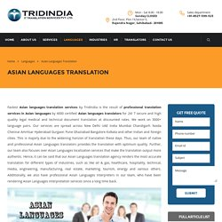 How Asian Translation Field Is Booming in Surat?