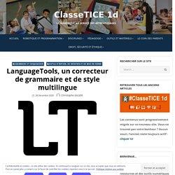 LanguageTools, un correcteur de grammaire et de style multilingue
