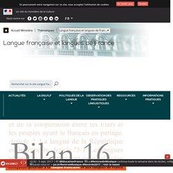 Délégation générale à la langue française et aux langues de France - DGLFLF