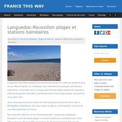 Languedoc plages et stations balnéaires