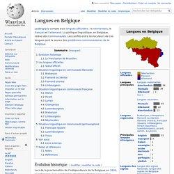 Langues en Belgique