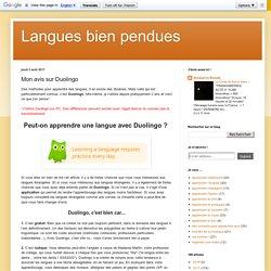 Mon avis sur Duolingo