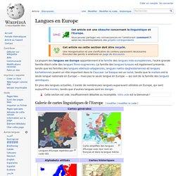 Langues en Europe
