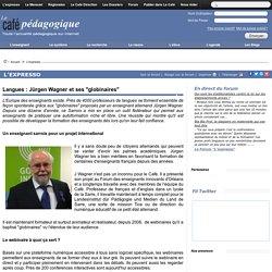 "Langues : Jürgen Wagner et ses ""globinaires"""
