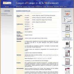 LEM - langues - occitan - donnees_essentielles
