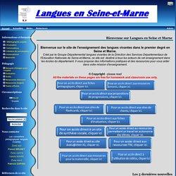 Langues en Seine et Marne