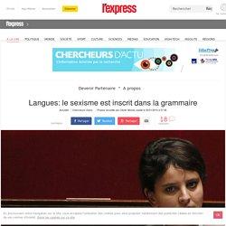 Langues: le sexisme est inscrit dans la grammaire