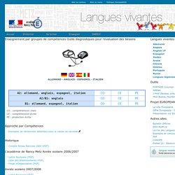 langues vivantes - académie de Nancy Metz