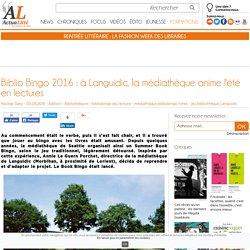 Biblio Bingo 2016 : à Languidic, la médiathèque anime l'été en lectures