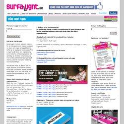 Länkar och läromaterial - Surfa Lugnt