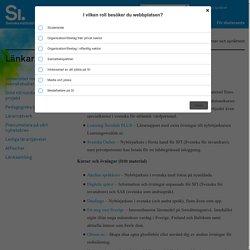 Länkar till nätkurser och språktest